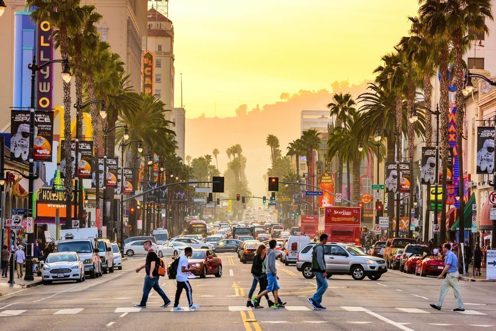 Los Angeles - Work and Travel