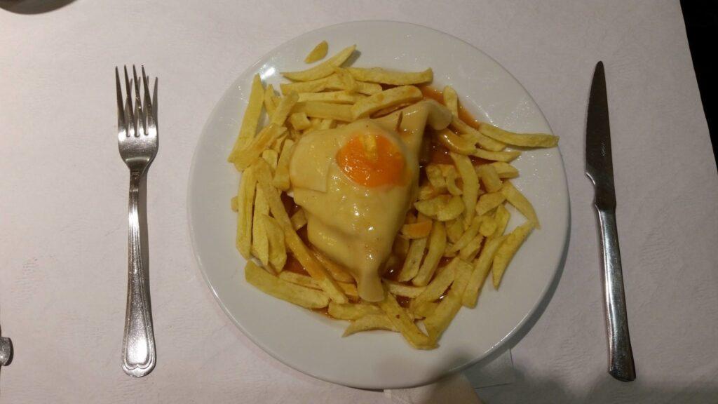 Porto'nun Meşhur Yemeği:Franchesinha