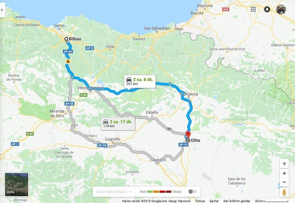Madrid Çıkışlı Turlar : Bask, Aragon ve Katalonya Rotası