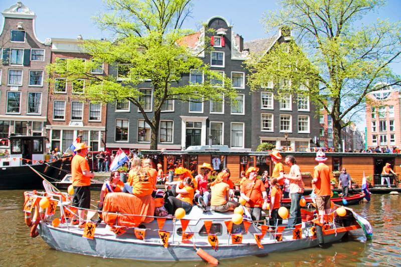 Hollanda'nın King's Day Çılgınlığı