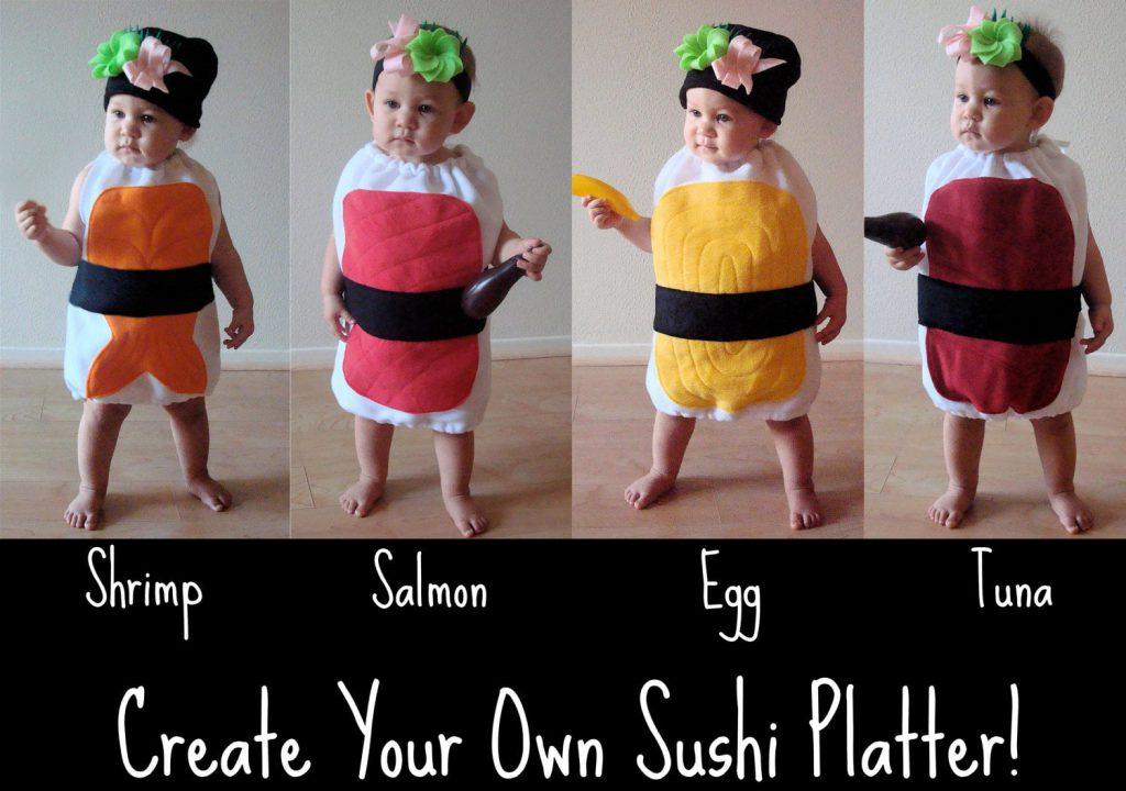 Cadılar Bayramı Kostümleri - Sushi Kostümleri