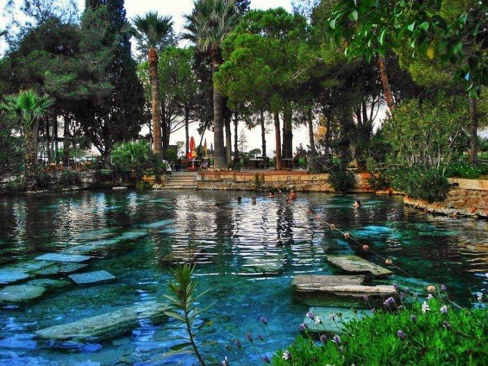 Kleopatra'nın Sağlık Havuzu - Denizli Gezi Rehberi