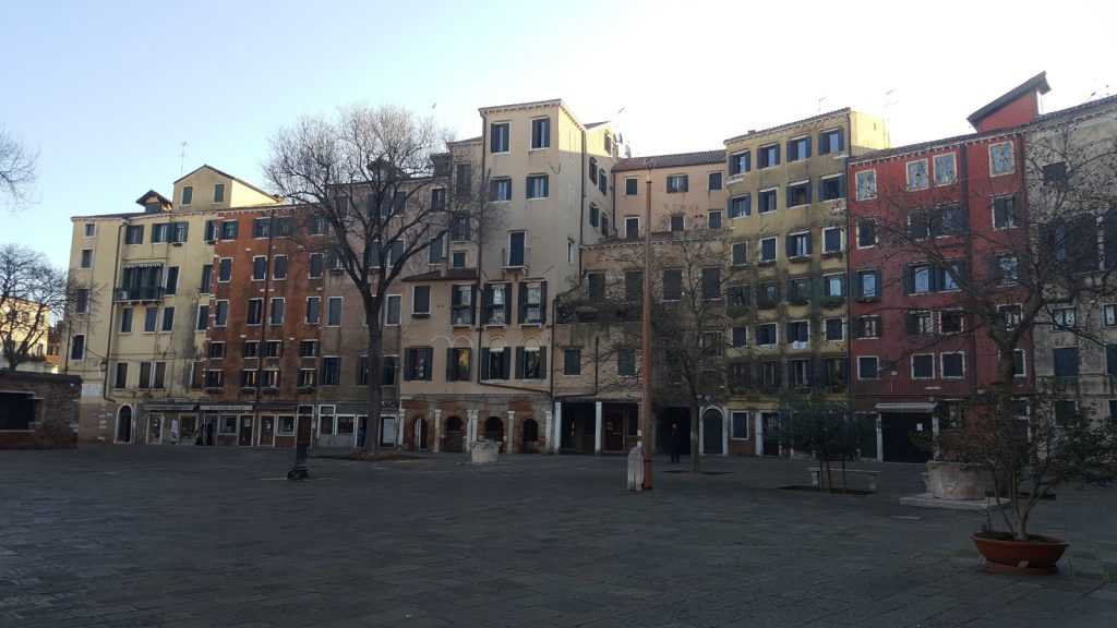 Venedik Yahudi Mahallesi (Ghetto)