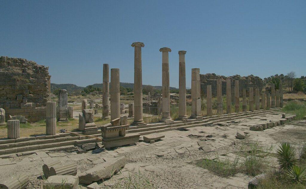 Antik Kentler Rehberi - Magnesia Artemis Tapınağı