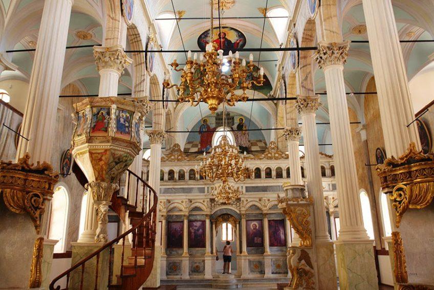 Taksiyarhis Kilisesi - Cunda-Ayvalık Gezi Rehberi