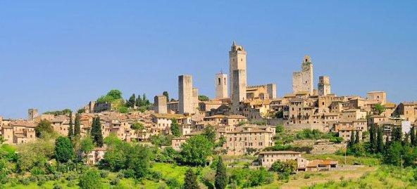 Roma Çevresinde Görülebilecek 10 Lokasyon - San Gimignano