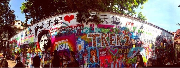 John Lennon Duvarı - 2 Günde Prag Gezi Rehberi