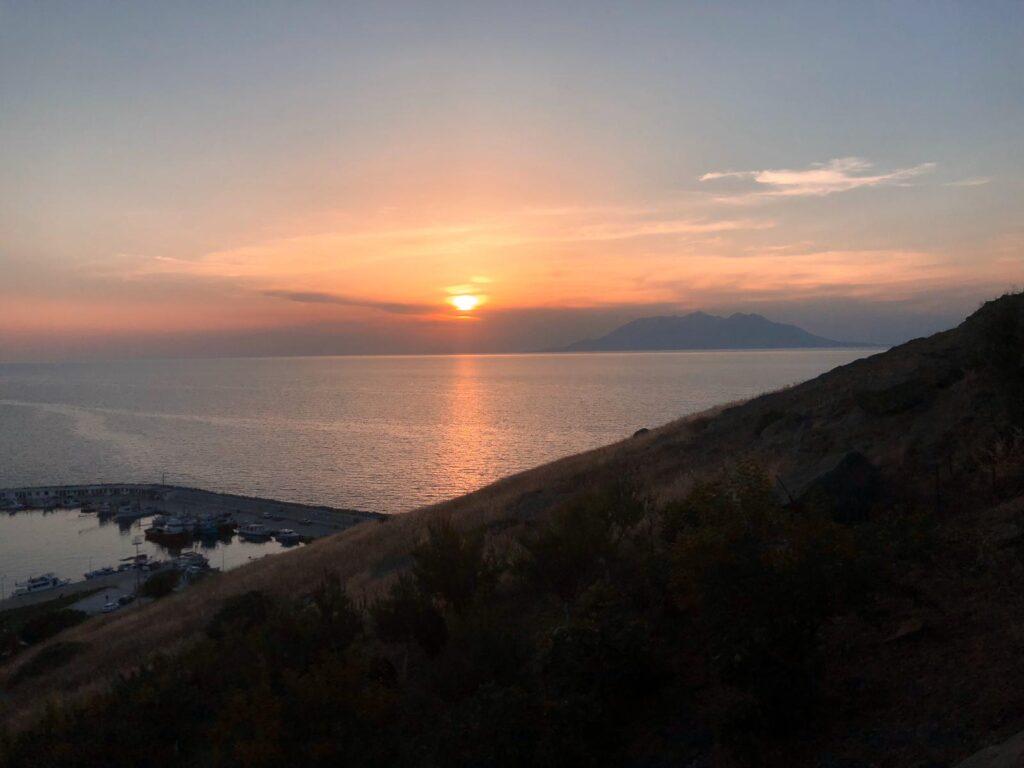 Kaleköy gün batımı