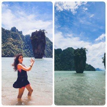 Phuket ve James Bond Adası - Maviyle Yeşilin Harmanlandığı Yer