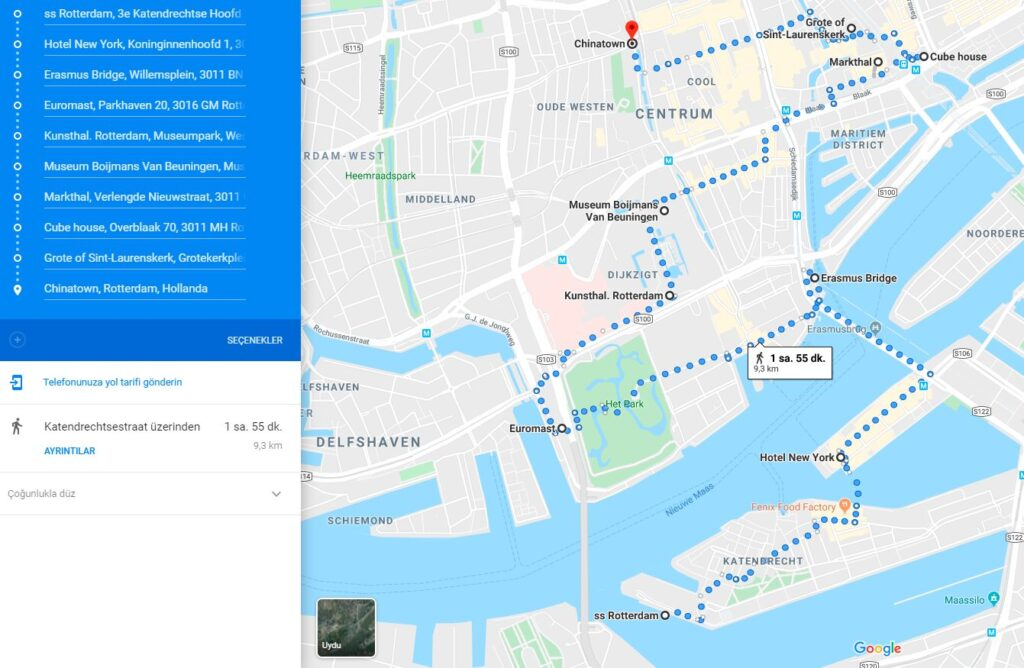 Rotterdam Gezi Rehberi - Avrupa'nın En Modern Şehri