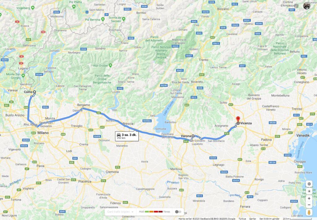Kuzey İtalya Rotası 1 | Milano Çıkışlı Turlar