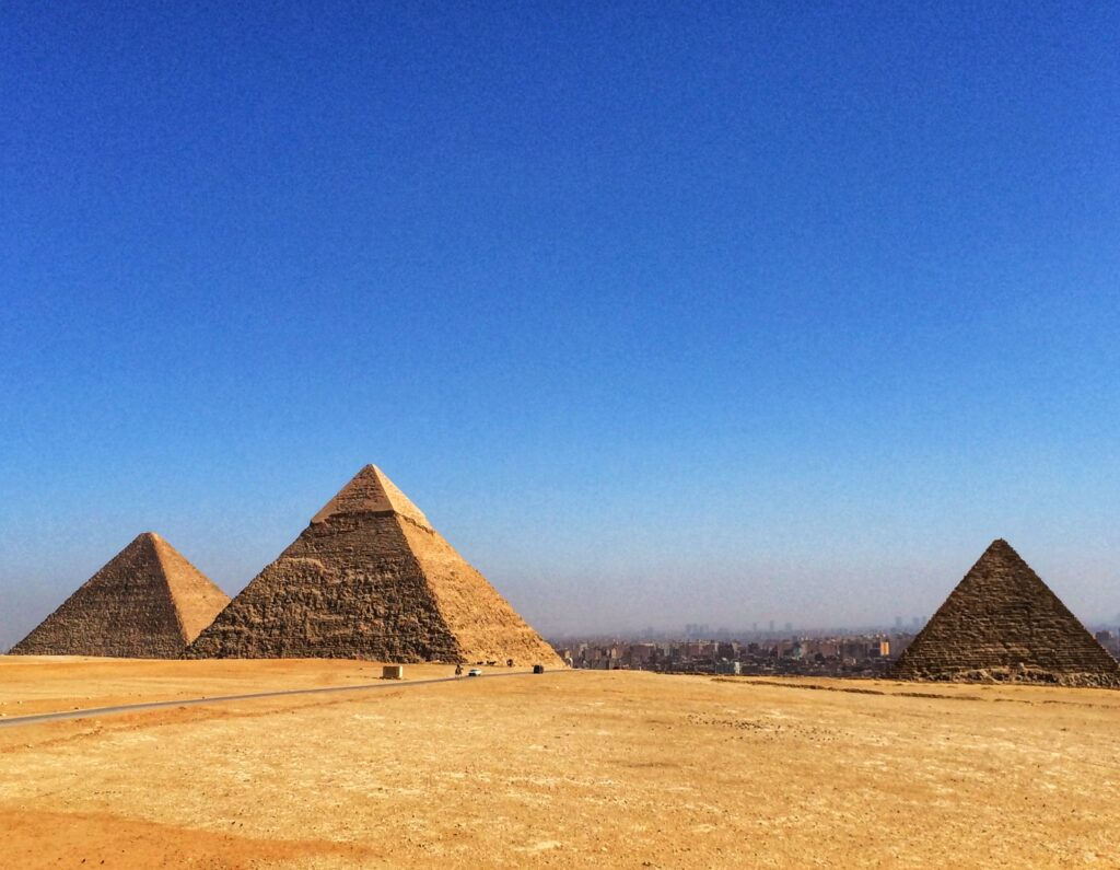 Mısır Piramitleri - Mısır Gezi Rehberi