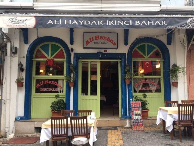 Ali Haydar İkinci Bahar Restorantı - İstanbul'da Turist