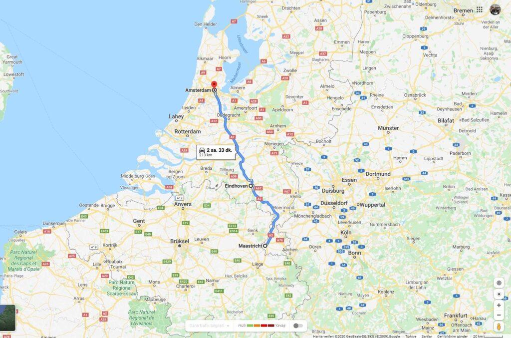 Benelüks Rotası - Amsterdam Çıkışlı Turlar
