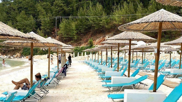 Porto Vathy Beach - Thassos Adası Rehberi