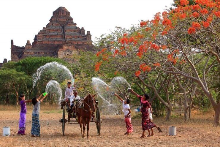 Myanmar yeni yılı festivali:Thingyan ( su festivali ) - Myanmar Seyahat Rehberi