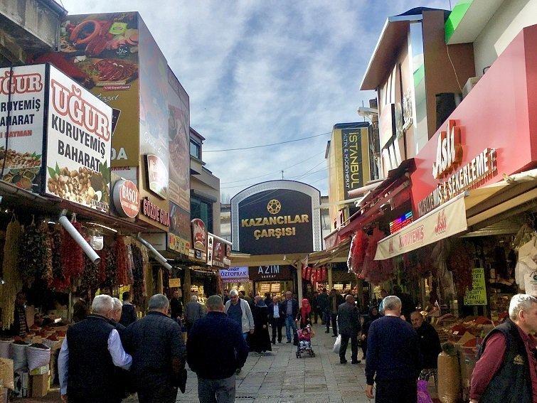 Kayseri Gezilecek Yerler-Kapalı Çarşı / Kayseri Gezi Rehberi