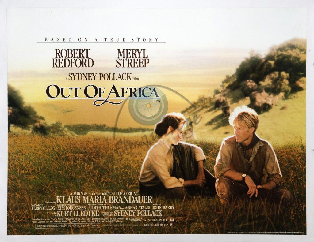 Out Of Africa - Benim Afrikam - Karantinada Film Keyfi