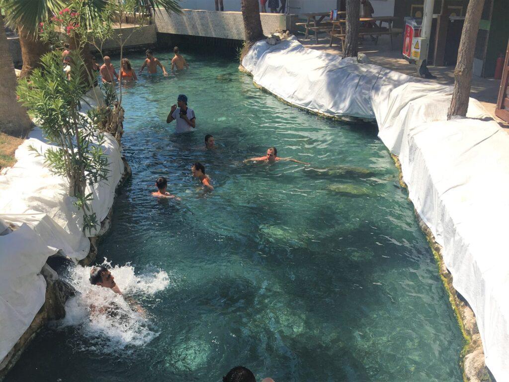 Pamukkale Travertenleri - Antik Havuz