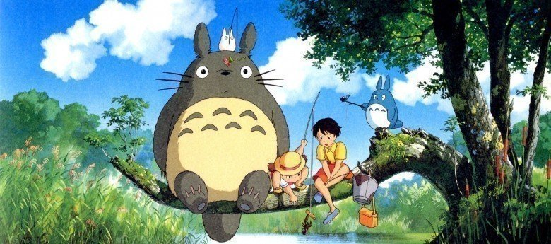 Komşum Totoro ( Tonari no Totoro) - En iyi 10 Anime Film