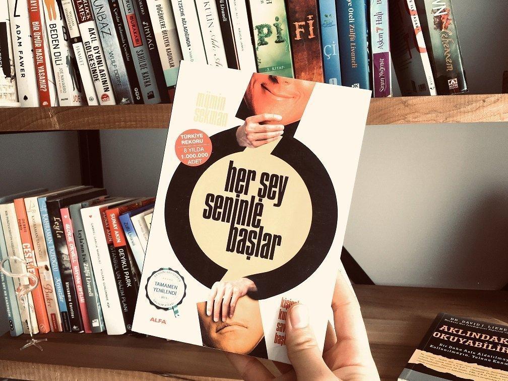 Her Şey Seninle Başlar - Mümin Sekman - En iyi 10 Kişisel Gelişim Kitabı