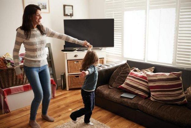 Evde Dans - Çocuklar İle Yapılabilecek Etkinlikler