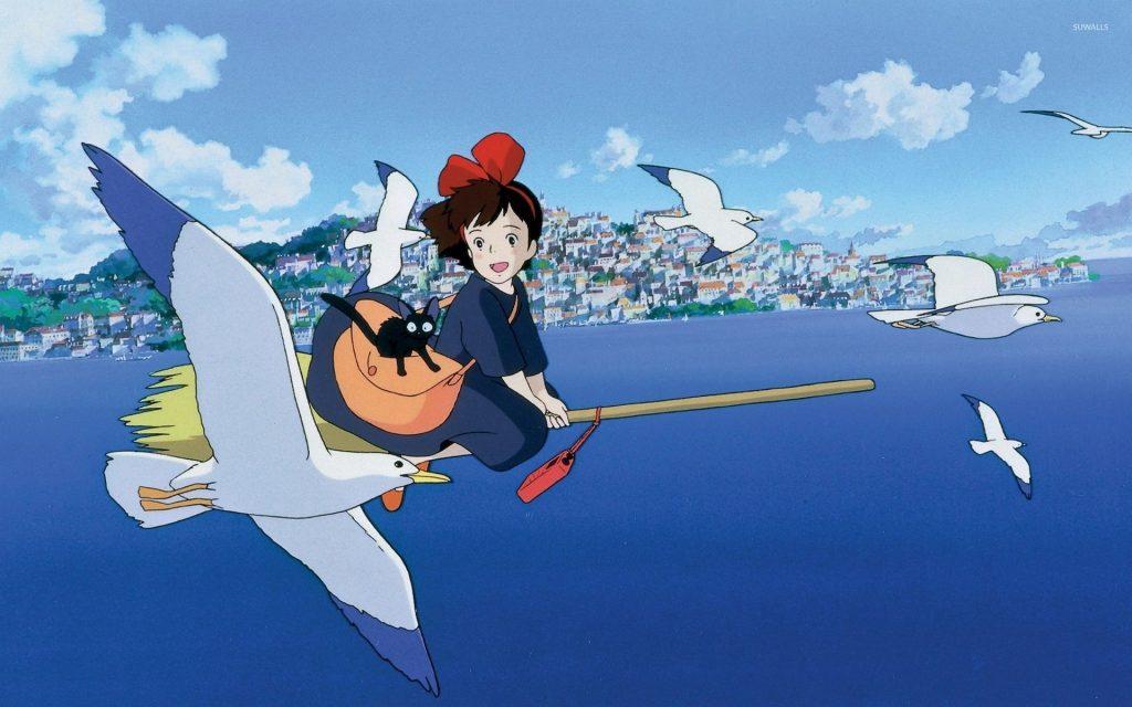 Küçük Cadı Kiki ( Majo no takkyûbin) - En iyi 10 Anime Film