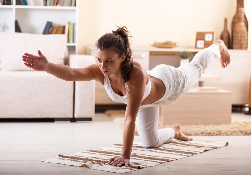 Evde Yoga - Karantinada Sağlıklı Kalma #Evdekal
