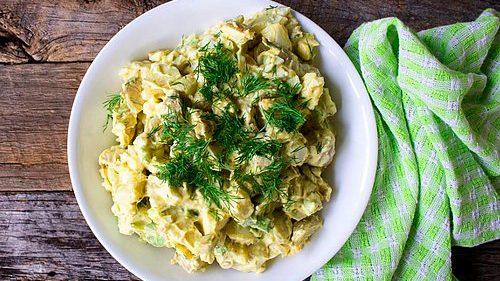 Alman Usülü Patates Salatası