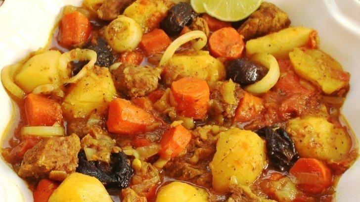 Pers usulü Tas Kebabı - Orta Doğu Meze
