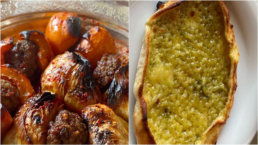 Yeni Dünya Kebabı ve Şekerli Pide - Anadolu Han Gane