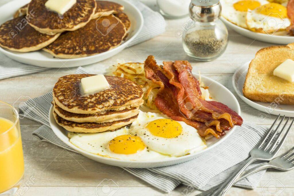 Pancake ve Waffle / 11 ülke kahvaltı