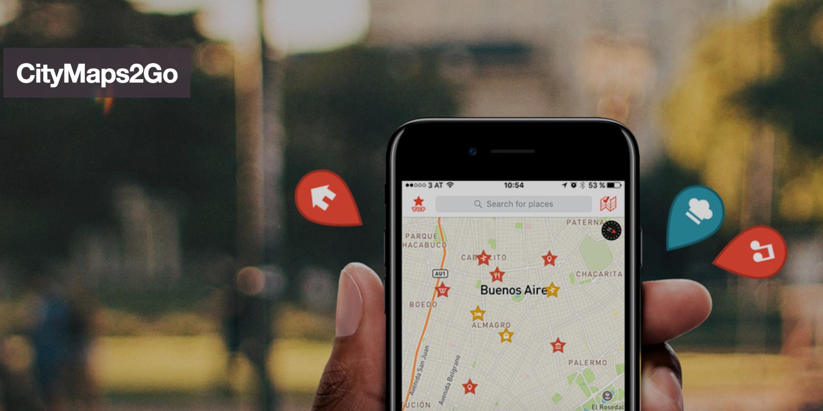 CityMaps2Go - İnternetsiz Çalışan En İyi Harita Uygulamaları