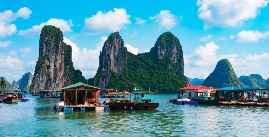 Mutlaka gezmeniz gereken 9 masal diyarı Asya köyü - Cua Van, Vietnam