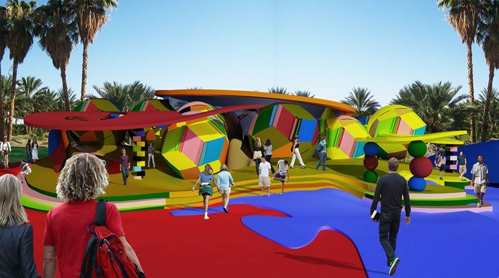 Reversable Destiny Fun House Palm Springs,California