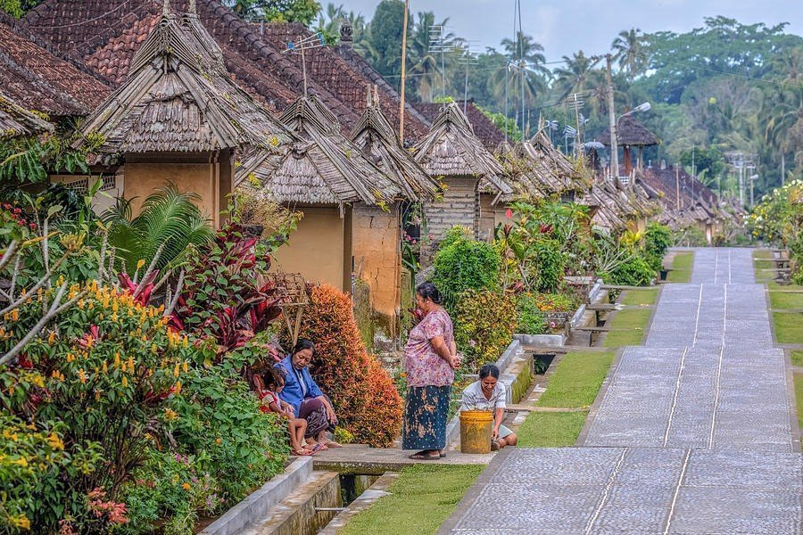 Mutlaka gezmeniz gereken 9 masal diyarı Asya köyü - Penglipuran, Indonesia