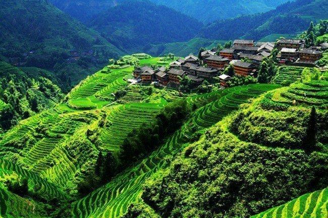 Mutlaka gezmeniz gereken 9 masal diyarı Asya köyü - Ping'an Village, China