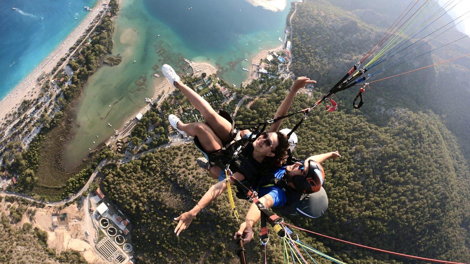 Türkiye'de Yamaç Paraşütü (Paragliding) | 5 Ünlü Yamaç Paraşütü Mekanı