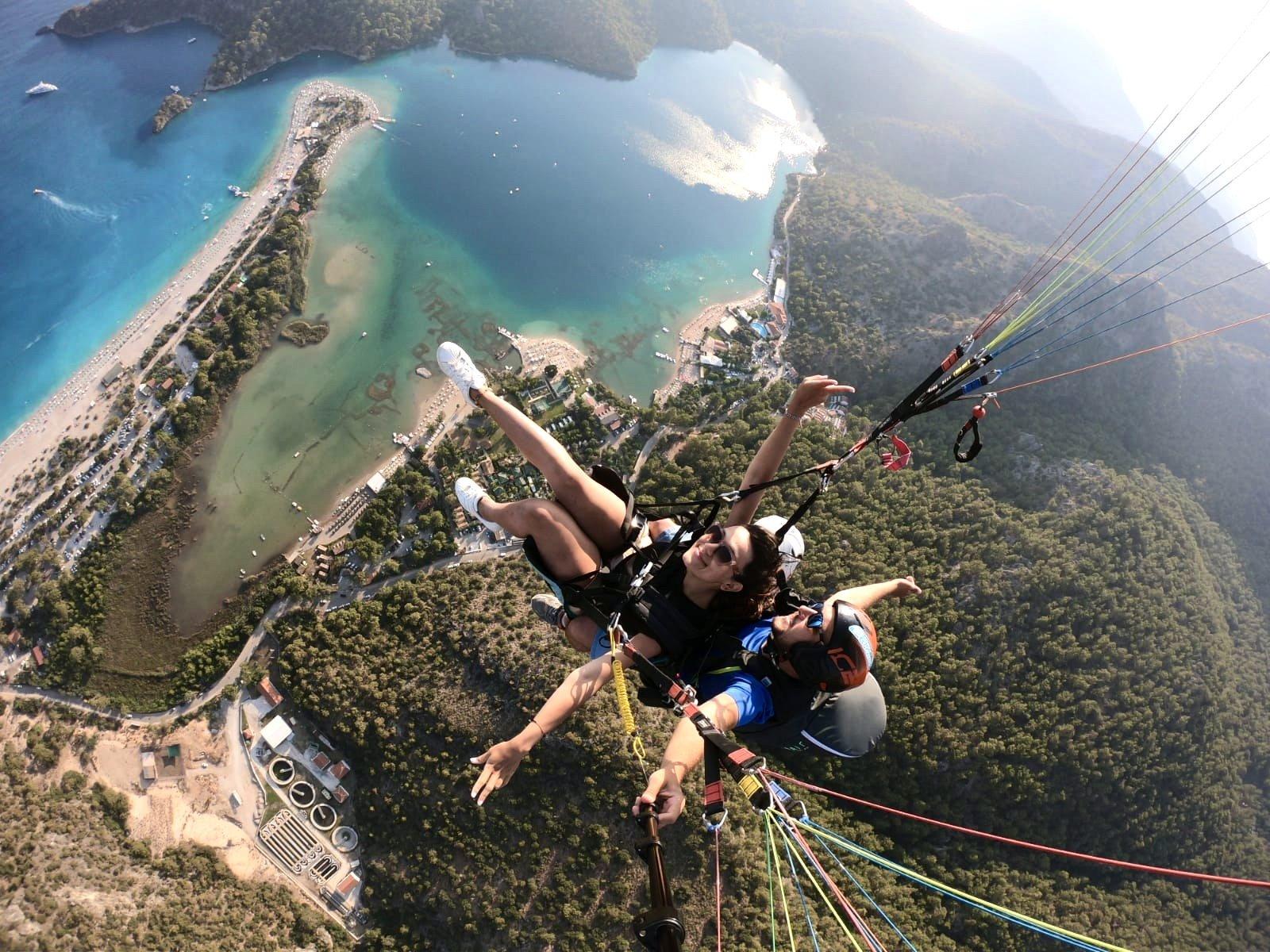 Yamaç Paraşütü (Paragliding) - Ölüdeniz / Fethiye