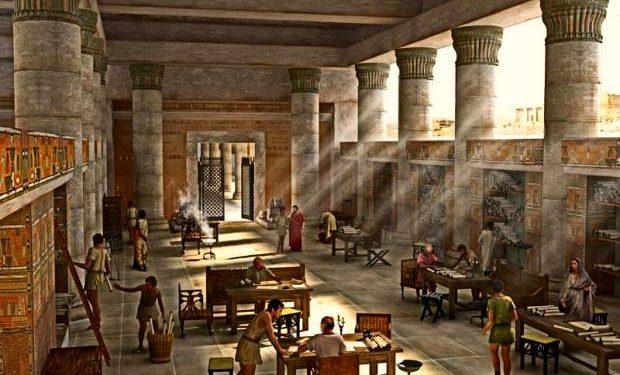 5 Muhteşem Antik Dönem Kütühanesi