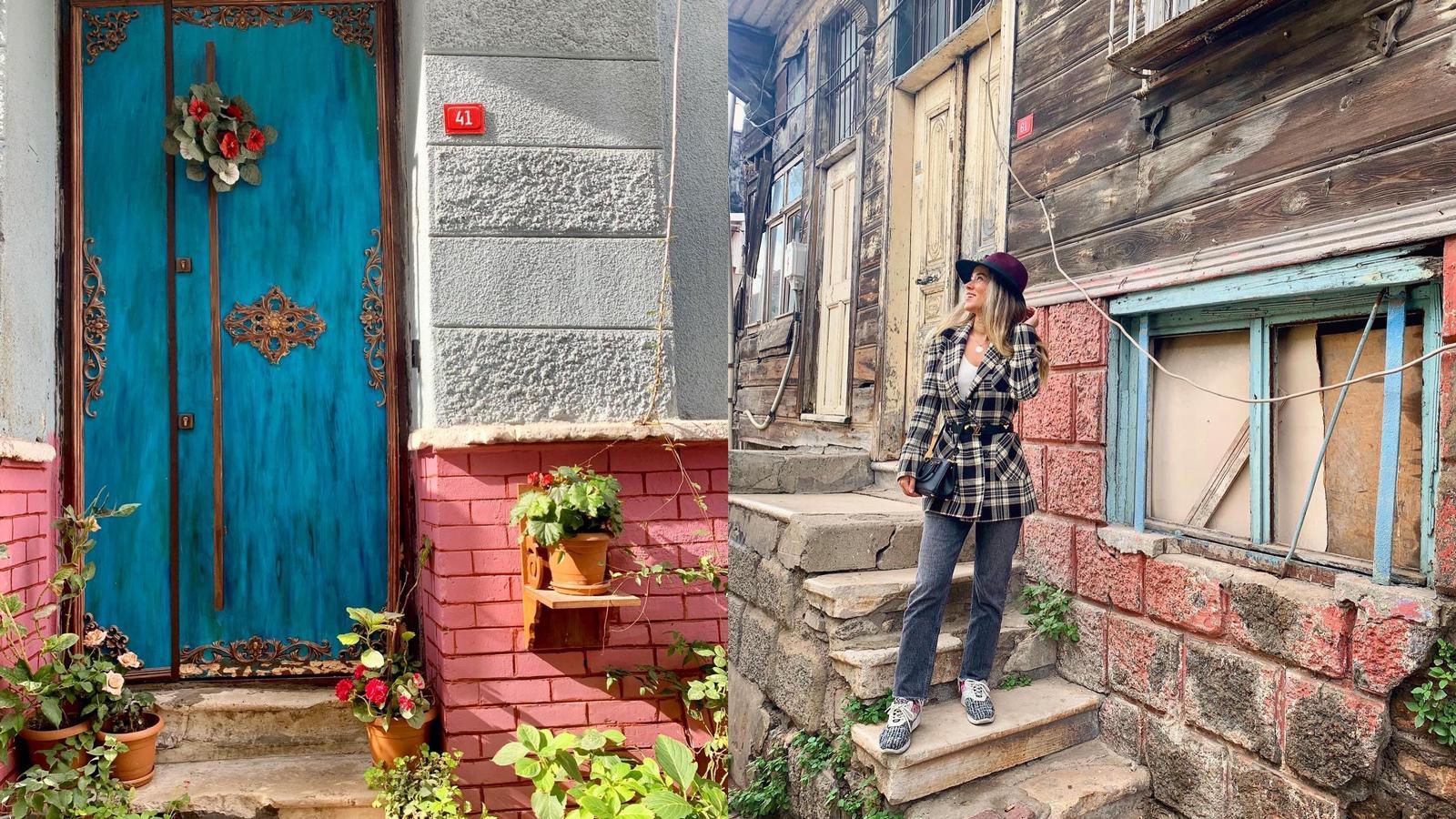 Balat'ın Renkli Kapıları - Balat Gezi Notları