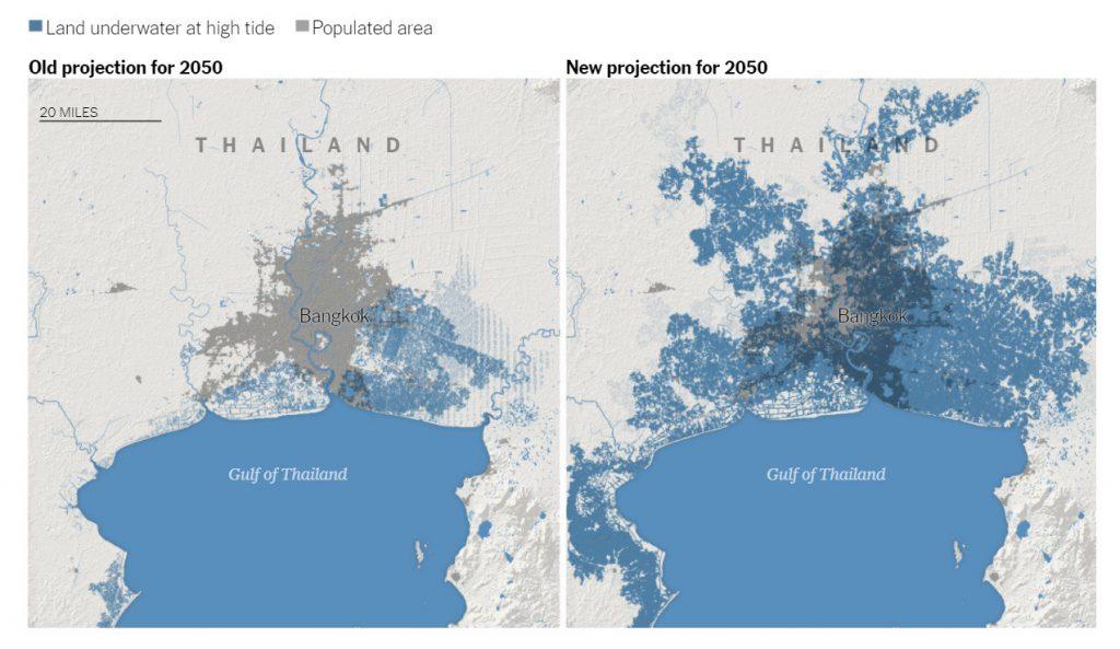 50 Yıl İçerisinde Sular Altında Kalacak 10 Şehir