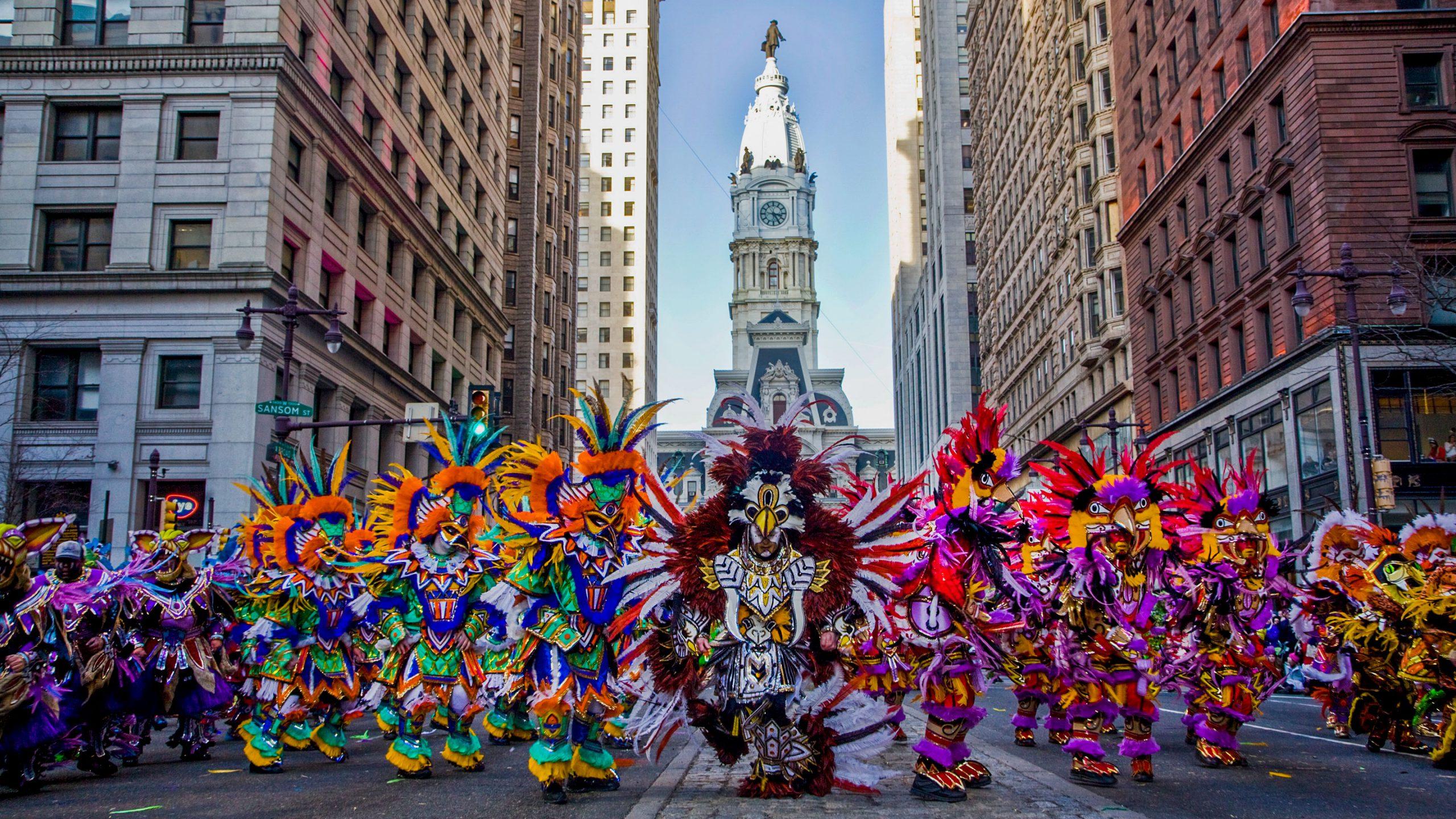 Mummers Parade - Dünyanın En Renkli Bayramları