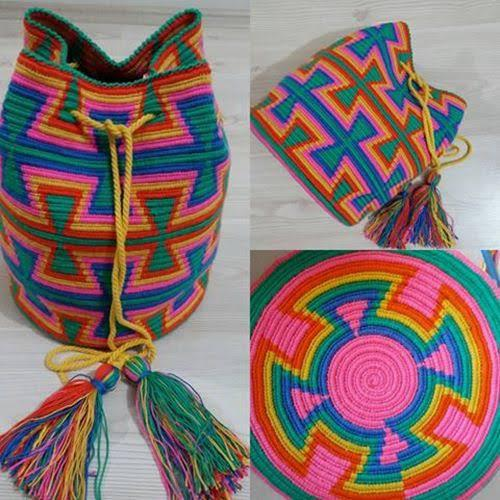 Wayuu Çantası, Güney Amerika Yerlileri -Wayuu Halkı