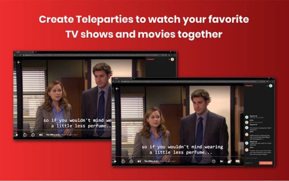 Netflix Eklentileri - Teleparty