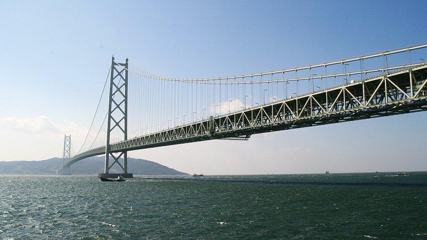 Meşhur Köprüler - Kobe - Akashi Kaikyo
