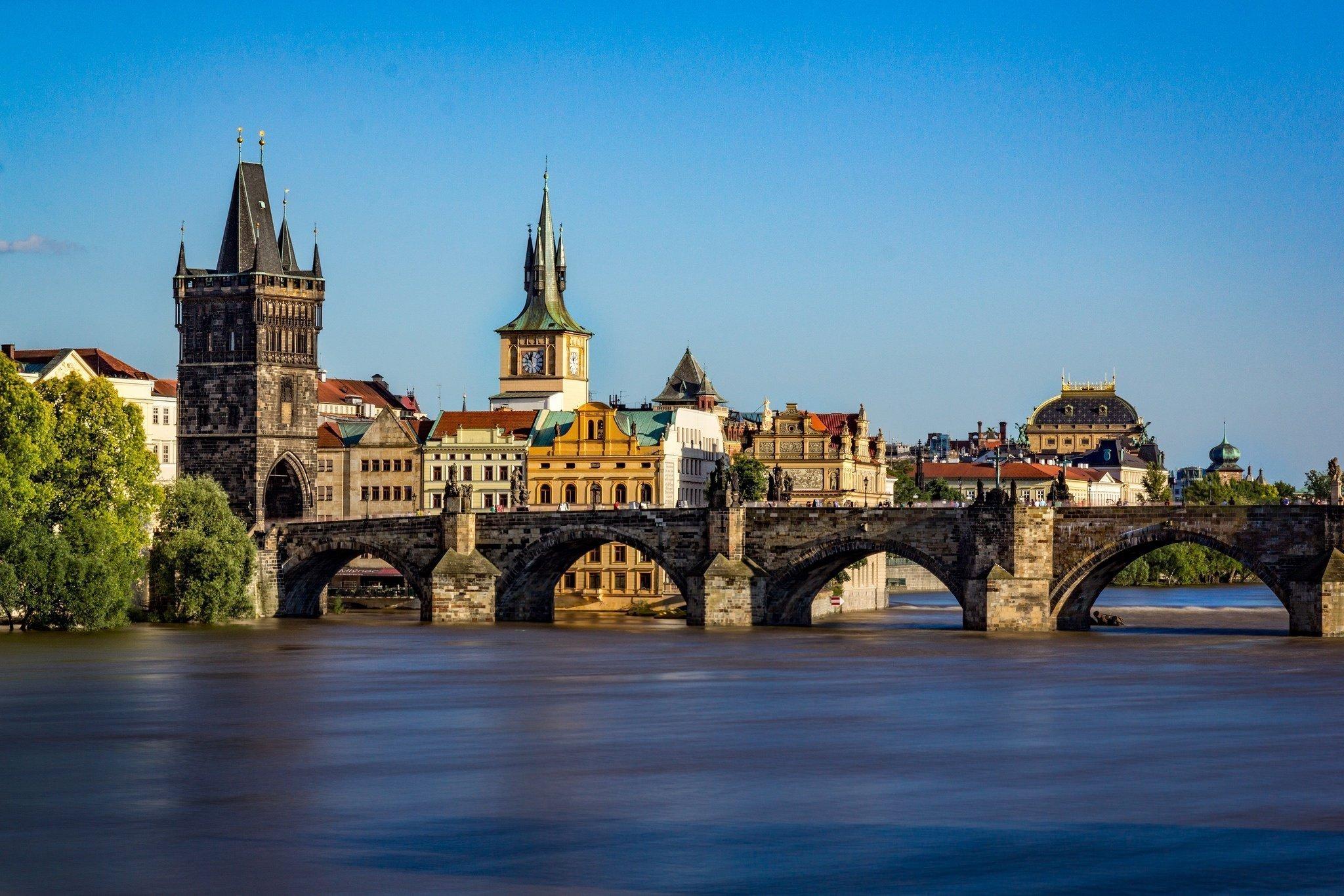 Meşhur Köprüler - Prag - Karluv Most