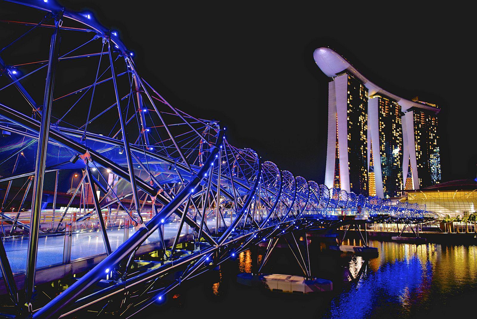 Meşhur Köprüler - Singapur - Helix
