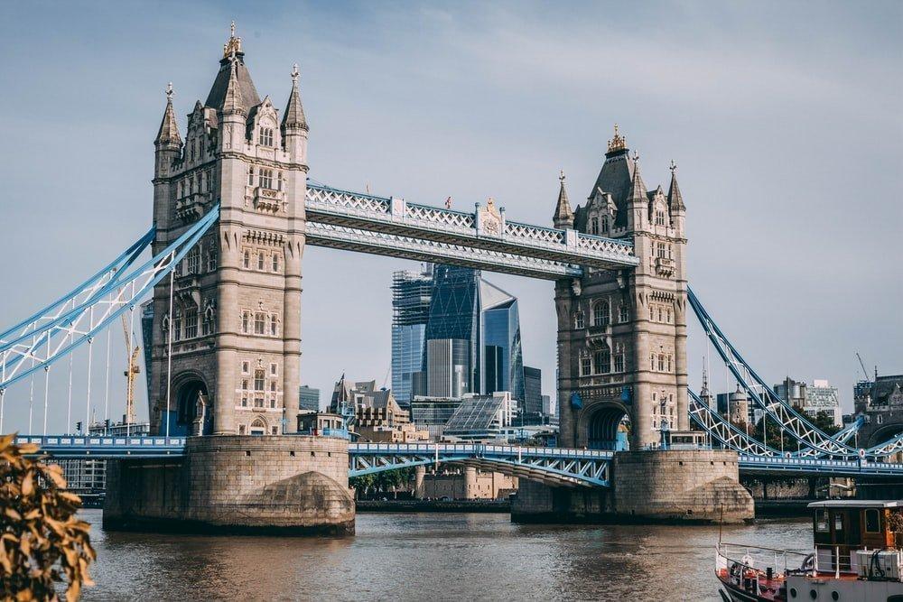 Meşhur Köprüler - Londra - Tower Bridge
