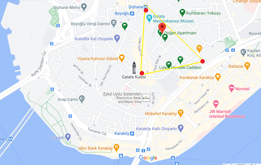 Sokak Sokak Beyoğlu | Eski İstanbul Gezi Rehberi